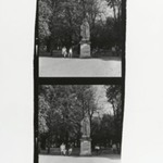 [Untitled] (Park Scene with Statue)