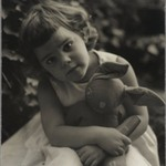 [Untitled] (Girl with Stuffed Rabbit)