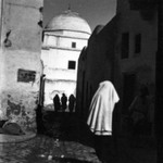 [Untitled] (Women on a Street, Kairouan, North Africa)
