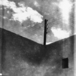 [Untitled] (Telephone Pole Against the Sky, North Africa)