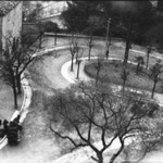 [Untitled] (Winding Road in Park)