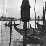 [Untitled] (Gondolas, Venice)