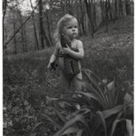 [Untitled] (Little Girl with Doll in Woods)