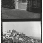 [Untitled] (Upper Exposure - Fountain) and (Lower Exposure - City on a Hill)