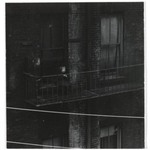 [Untitled] (Tenement, Child on Fire Escape)