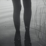 [Untitled] (Legs Reflecting in Water)