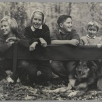 [Untitled] (Children with Dog)
