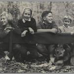 [Untitled] (Children with Dog)