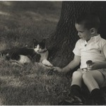 [Untitled] (Boy with Cat)