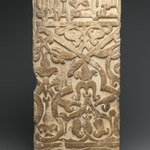 Dado Panel from the Courtyard of the Royal Palace of Mas`ud III of Ghazni (reigned A.H. 493-509/ 1009-1115 C.E.