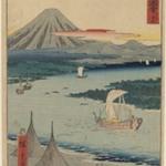 19th Folio From the Upright Gojusan Tsuji Tokaido