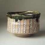 Oribe Ware Tea Bowl