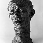 Pierre de Wiessant, Colossal Head (Pierre de Wissant, t&ecirc;te colossale)