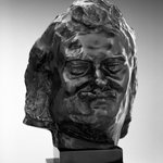 Balzac, Smiling Head, known as Head I (Balzac, tête souriante dite Tête I)