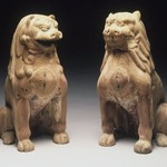 Koma-Inu (Mouth Open); One of Pair