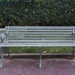 Park Bench from Coney Island Boardwalk