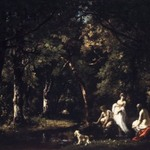 Bathers by a Woodland Stream
