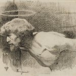 Study for &quot;The Beheading of St. John the Baptist&quot;