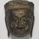 Buddhist Processional Mask of a Bodhisattva