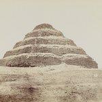 Pyramid at Saqqara (View from southeast of the Step Pyramid)