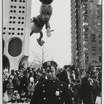 [Untitled] (Thanksgiving Day Parade Near the Huntington Hartford Gallery of Modern Art at 2 Columbus Circle)