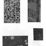 Mounted Specimen of Folk Textile