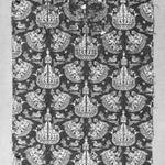 Textile Fragment with Ship Pattern