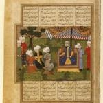 Ali Receives the Paladin Adnan, Folio from the Khavarannameh of Muhammad Ibn Husam