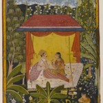 Unidentified Page from a Dispersed Nayika Series