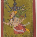 Vishnu on Garuda