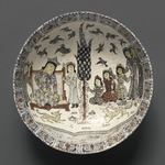 Bowl with an Enthronement Scene