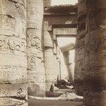 Karnak Interieur de la Salle