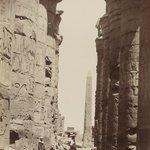 Karnak Colonnes et Obelisque