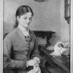 Woman Sewing (Paolina Pistolesi)