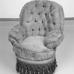 Childs Upholstered Wire Frame Armchair
