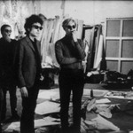 Dylan, Warhol, Malanga and Danny Williams