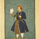 Portrait of Jahangir Holding a Falcon