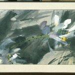 Hanging Scroll (Framed) - Distant Fragrance