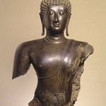 Head and Torso of a Buddha