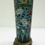 Tall Slender Cylindrical Vase