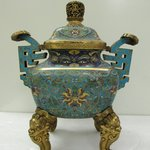 Large Incense Burner and Cover