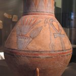 Jar with Was-Scepters and Ankhs