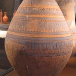 Painted Storage Jar with Marks of an Ancient Cord