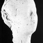 Sculptors Model of a Female Head