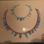 Necklace with Nefer - Signs, Bes-Images, Tawerets, etc.