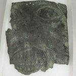 [Illegible] Mask, Found with Mummies