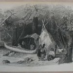 Wigwam in the Forest