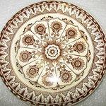 Desert Plate, Cyprus Pattern
