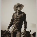 Untitled, Rodeo Rider with Lasso