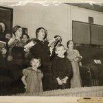 Choir Singing at Revival Meeting
